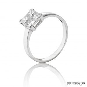 Shop 18CT Certified Princess Cut Diamond Rings - Order Online Today For Next Day
