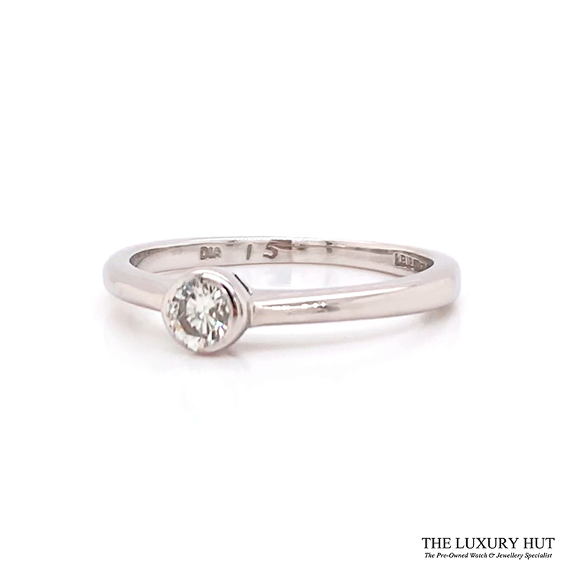 Shop 18ct White Gold .15ct Diamond Engagement Ring - Order Online Today for Next Day Delivery - Sell Your Engagement Ring