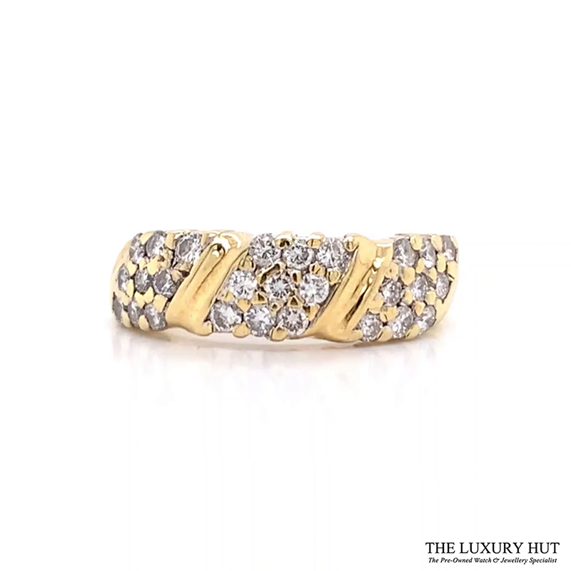 Shop 18CT Yellow Gold Diamond Ring - Order Online Today for Next Day Delivery - Sell Your unwanted jewellery for cash to The Luxury Hut