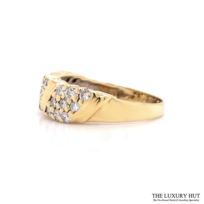 Shop 18CT Yellow Gold Diamond Ring - Order Online Today for Next Day Delivery - Sell Your unwanted jewellery