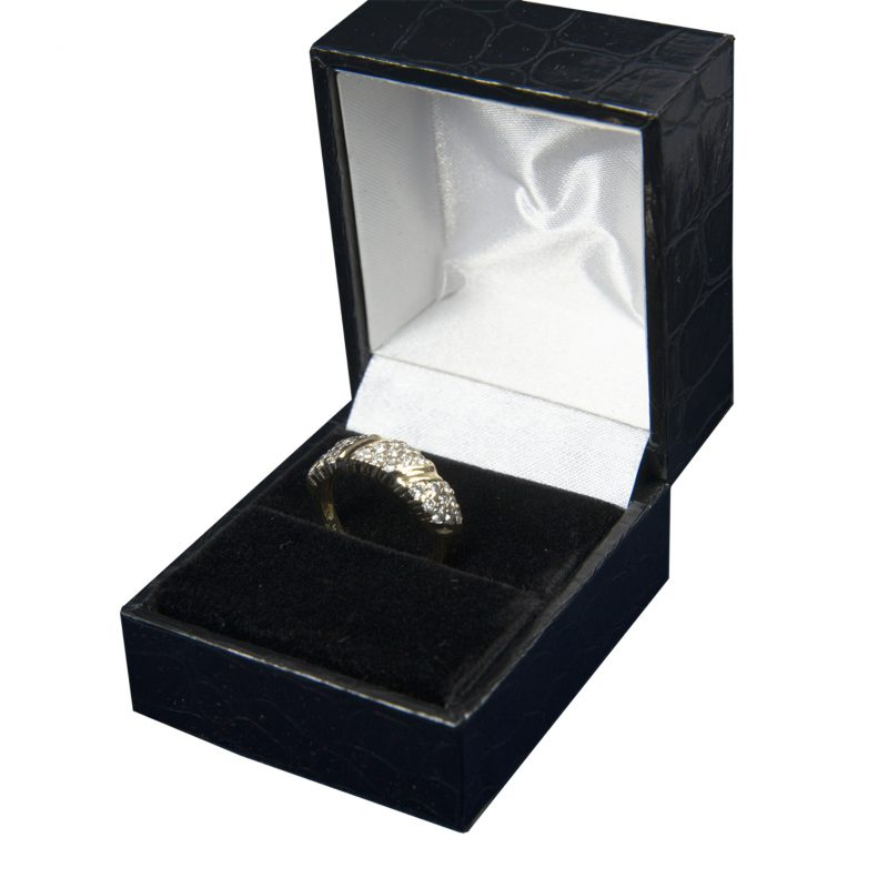 Shop 18CT Yellow Gold Diamond Ring - Order Online Today for Next Day Delivery