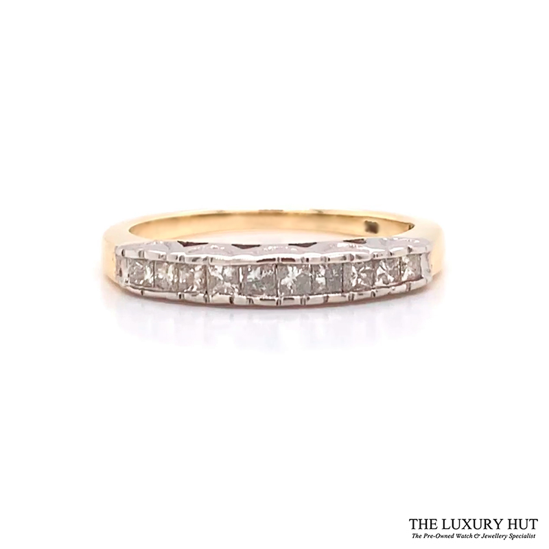 Shop 9CT Yellow Gold Diamond Ring - Order Online Today for Next Day Delivery - Sell Your Jewellery to the Luxury Hut London