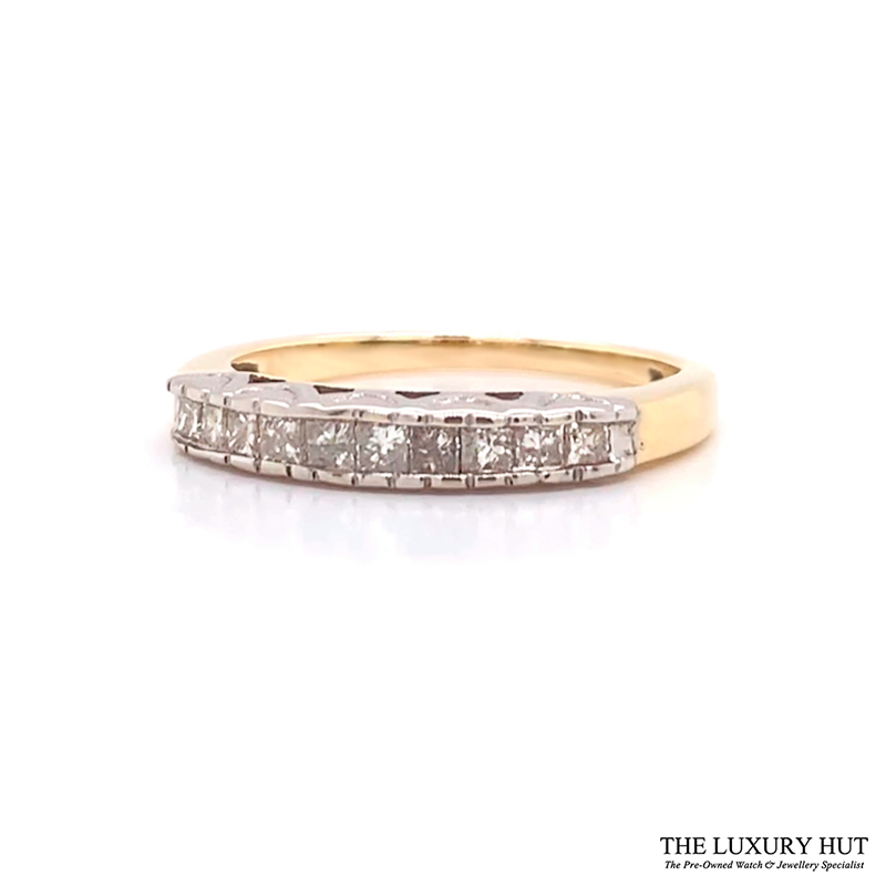 Shop 9CT Yellow Gold Diamond Ring - Order Online Today for Next Day Delivery - Sell Your Jewellery to the Luxury Hut