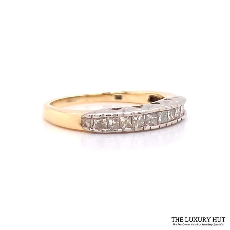 Shop 9CT Yellow Gold Diamond Ring - Order Online Today