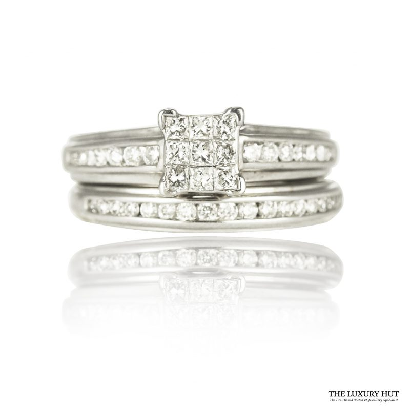 Shop Pre-Owned Diamond Ring Sets- Order Online Today For Next Day Delivery