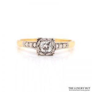 Shop Vintage Diamond Engagement Rings - Order Online Today For Next Day Delivery