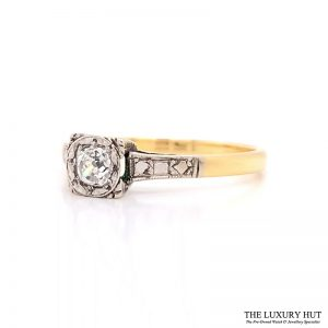 Shop Vintage Diamond Engagement Rings - Order Online Today For Next Day
