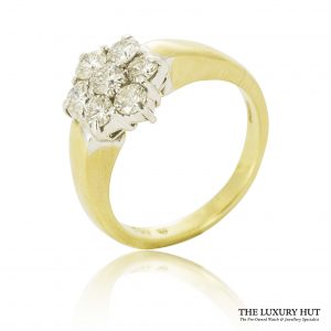 Shop Pre-Owned Cluster Diamond Rings - Order Online Today For Next Day Delivery - Sell Or Part Exchange Your Diamond Jewellery At The Luxury Hut