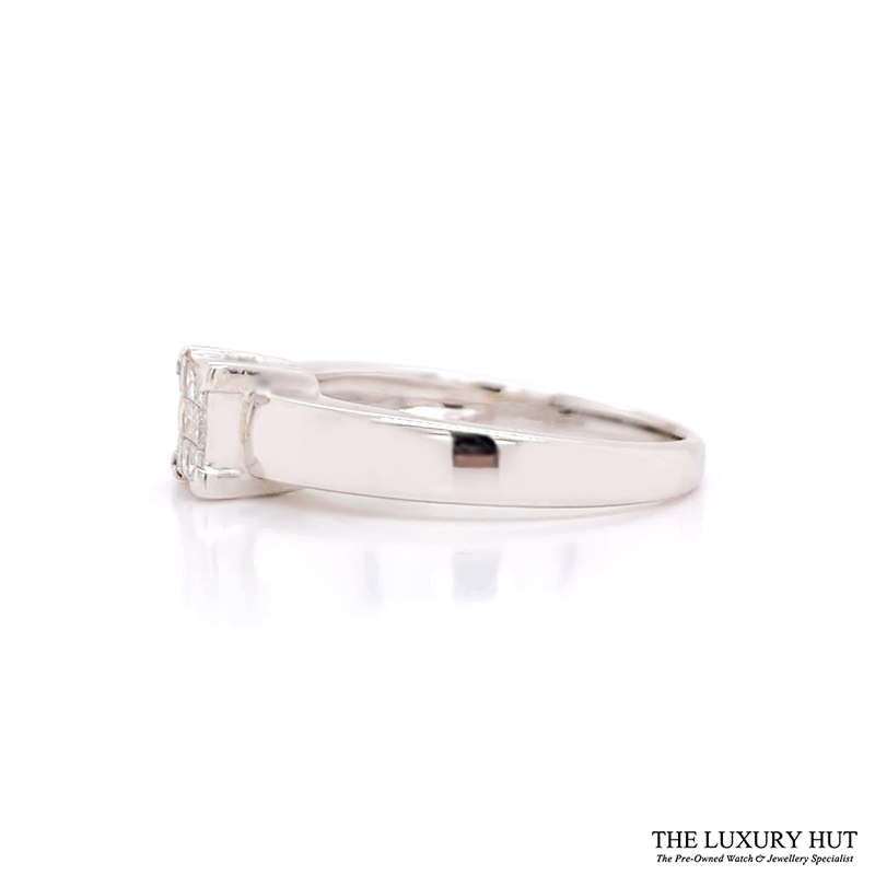 Shop 18CT White Gold Princess Cut Diamond Ring - Order Online Today for Next Day Delivery - Sell Diamond Jewellery