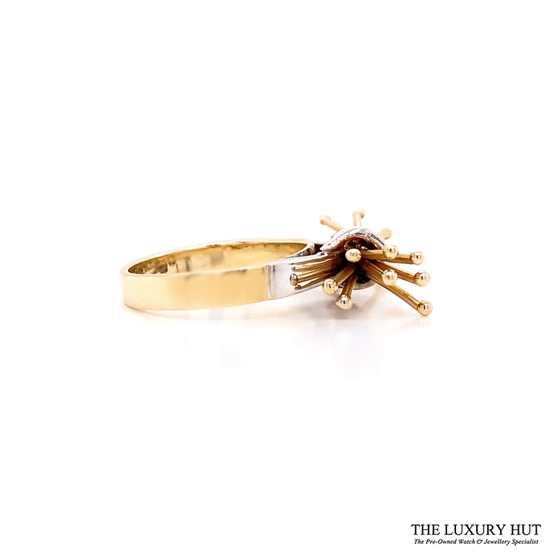 Shop 14CT Yellow & White Gold Citrine Dress Ring - Order Online