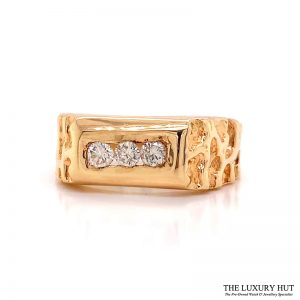 Shop Gents 14ct Gold Diamond Rings - Order Online Today for Next Day