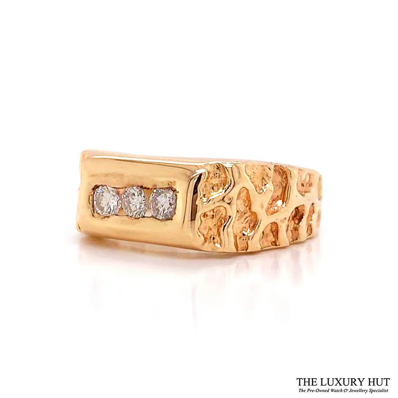 Shop Gents 14ct Gold Diamond Rings - Order Online