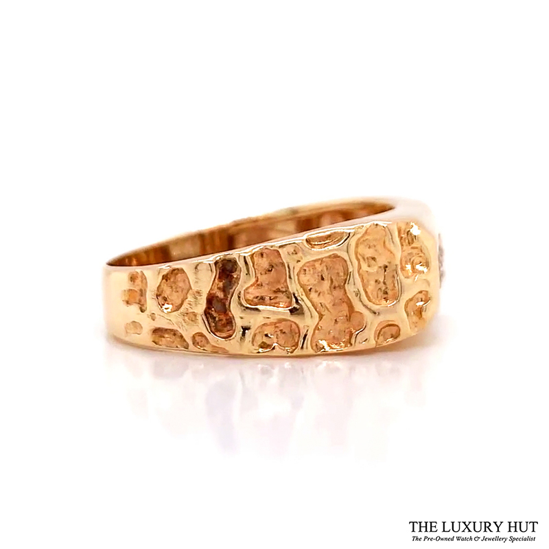 Shop Gents 14ct Gold Diamond Rings - Order
