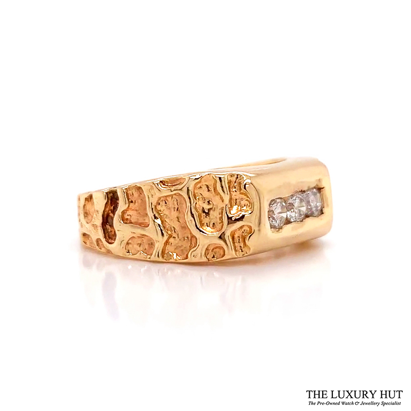Shop Gents 14ct Gold Diamond Rings Online