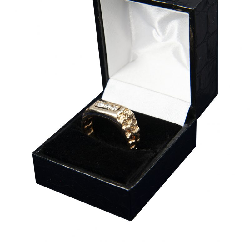 Shop Gents 14ct Gold Diamond Rings - Order Online Today