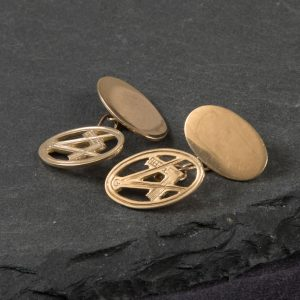 Shop 9ct Yellow Gold Masonic Cufflinks - Order Online Today For Next Day Delivery – Sell Your Old Jewellery To Us