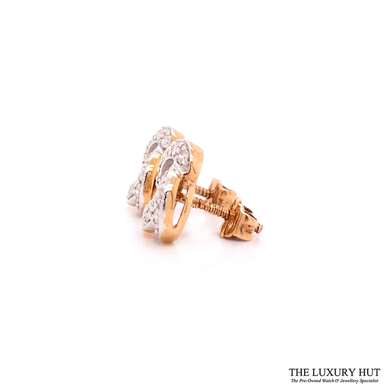 9CT GOLD 0.60CT DIAMOND CLUSTER EARRINGS - Order Online Today For Next Day Delivery - Sell