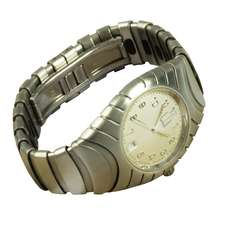 Dunhill Gents Steel Quartz Watch - Order Online Today For Next Day