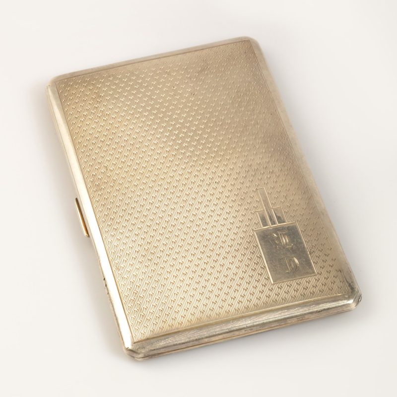 Shop Silver Hallmarked Cigarette Case - Order Online Today For Next Day Delivery