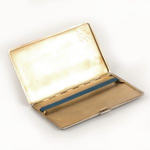 Shop Silver Hallmarked Cigarette Case - Order Online Today For Next Day