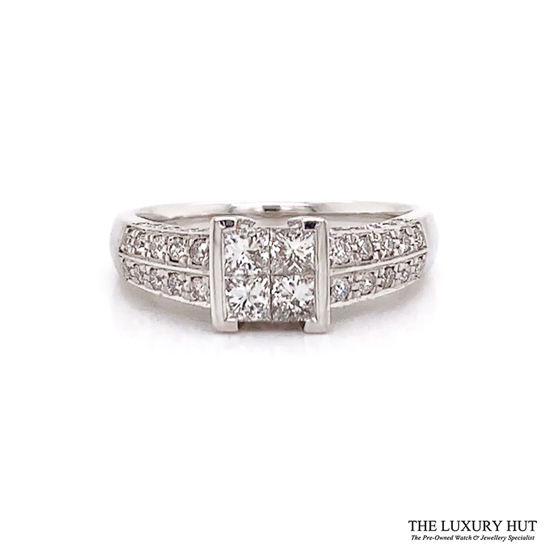 Shop 18ct White Gold Certified Diamond Ring - Order Online Today For Next Day Delivery