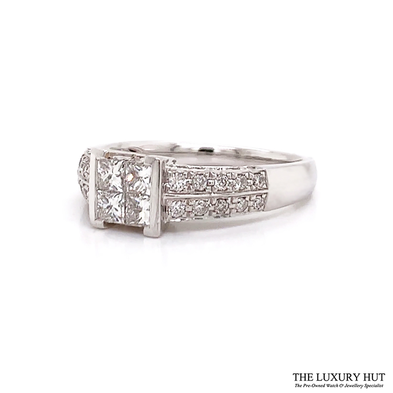 Shop 18ct White Gold Certified Diamond Ring - Order Online Today For Next Day