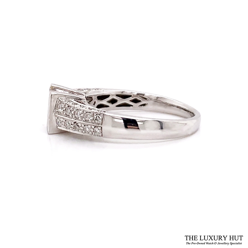 Shop 18ct White Gold Certified Diamond Ring - Order Online