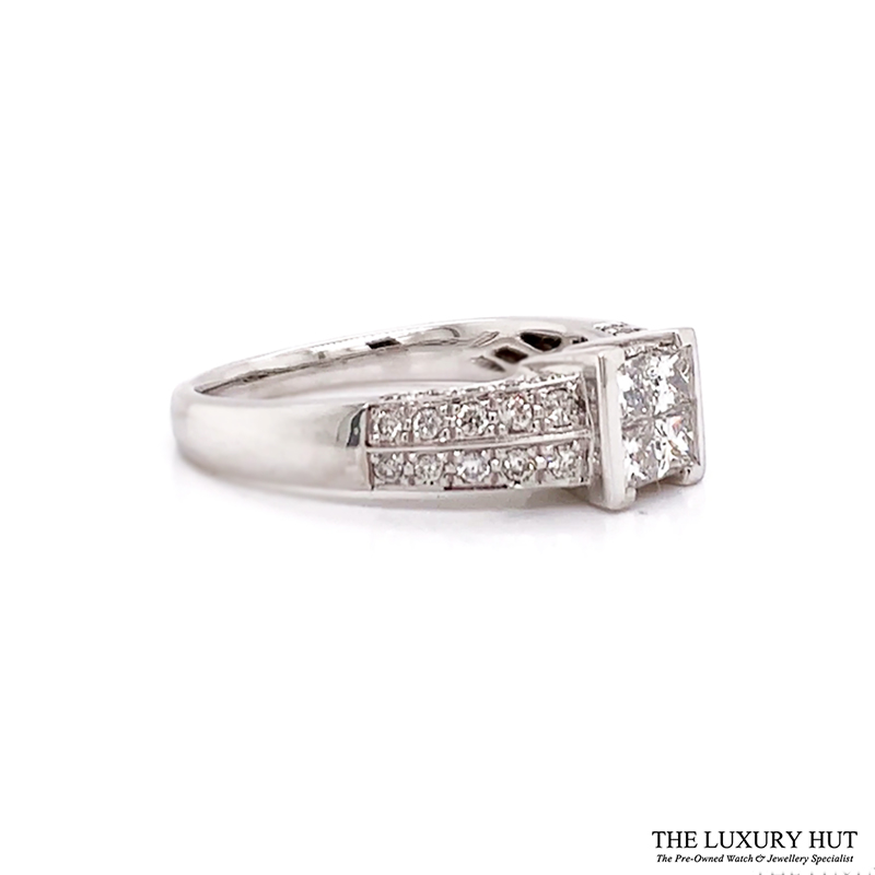 Shop 18ct White Gold Certified Diamond Ring - Order Online For Next Day Delivery