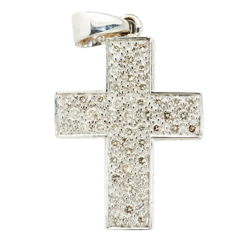 Shop Pre-Owned Diamond Cross Pendant Jewellery - Order Online Today For Next Day Delivery