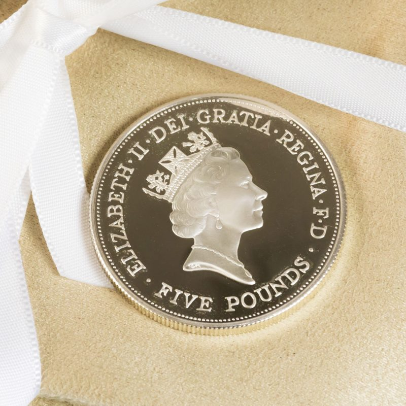 Shop Queen Elizabeth Silver £5 Coins - Order Online Today For Next Day