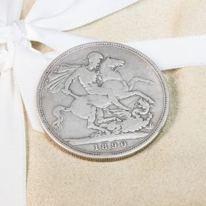 Shop Silver Crown Coin Featuring Queen Victoria - Order Online Today for Next Day Delivery - Sell Your Coins