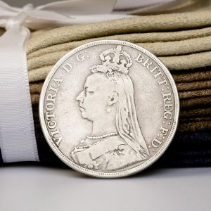 Shop Silver Crown Coin Featuring Queen Victoria - Order Online Today for Next Day Delivery - Sell Your Coins to the Luxury Hut