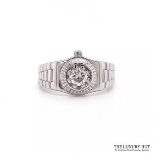 Shop 9ct White Gold Diamond Gents Rings - Order Online Today For Next Day Delivery
