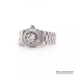 Shop 9ct White Gold Diamond Gents Rings - Order Online Today For Next Day