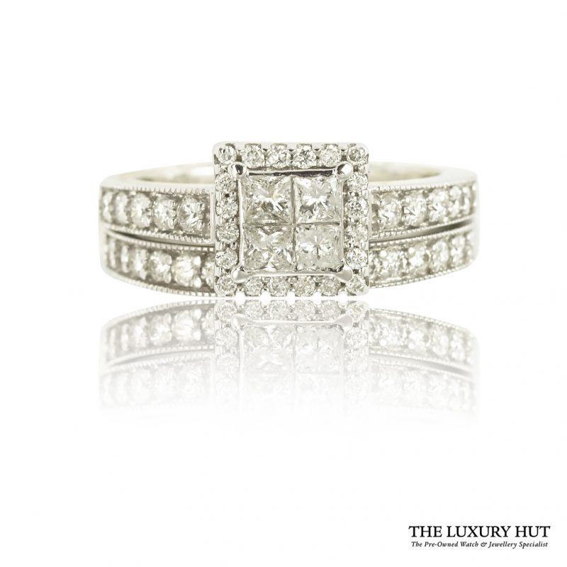 Shop 18CT White Wedding & Engagement Rings - Order Online Today for Next Day Delivery