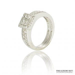 Shop 18CT White Wedding & Engagement Rings - Order Online Today for Next Day