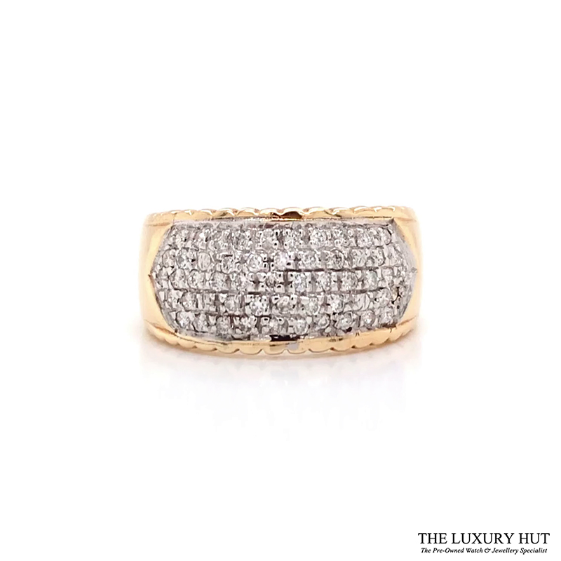 Shop 9ct Gold Pre-Owned Diamond Ring - Order Online Today For Next Day Delivery