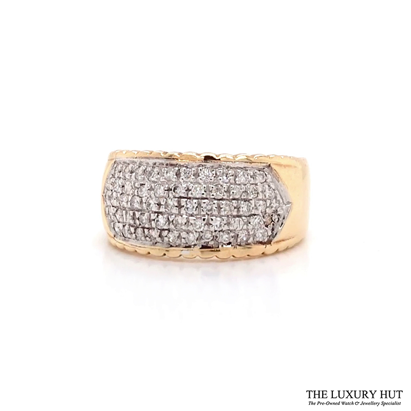 Shop 9ct Gold Pre-Owned Diamond Ring - Order Online Today For Next Day