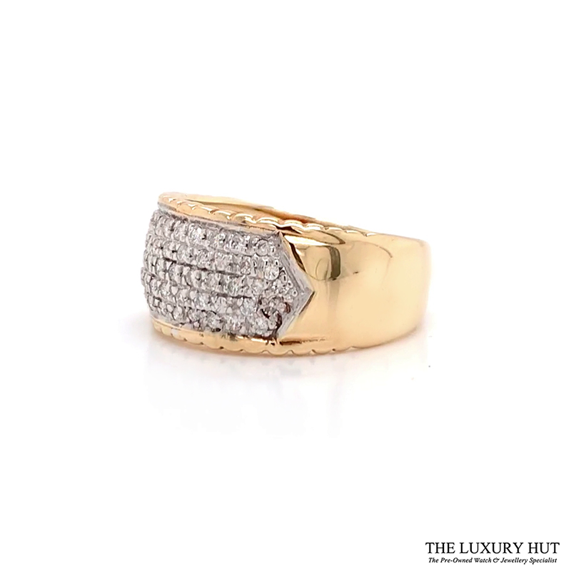 Shop 9ct Gold Pre-Owned Diamond Ring - Order Online