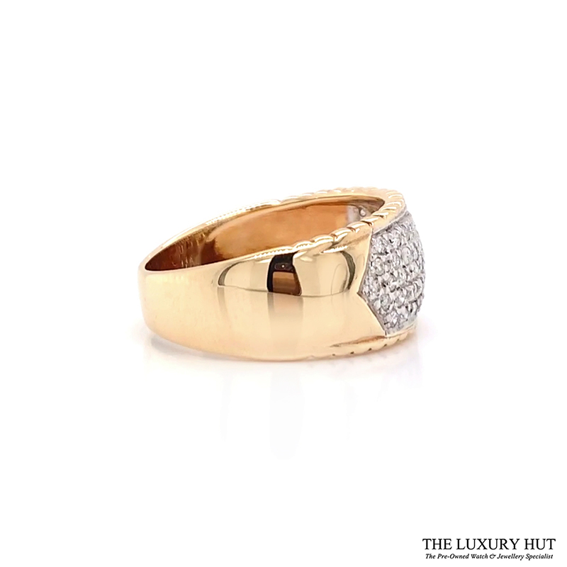 Shop 9ct Gold Pre-Owned Diamond Ring - Order