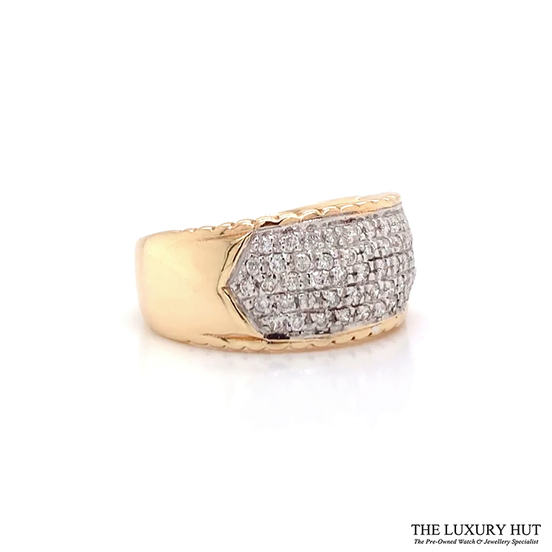Shop 9ct Gold Pre-Owned Diamond Ring