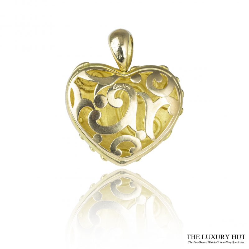 Shop 18ct Yellow Gold Boodles Heart Pendant - Order Online Today