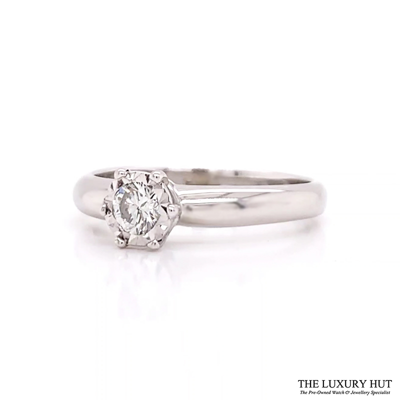 Shop 9ct Yellow Gold Diamond Engagement Ring - Order Online Today For Next Day