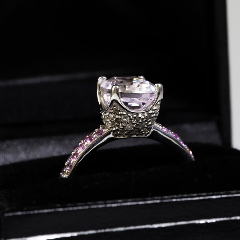Shop Pre-Owned 9ct Gold Topaz & Diamond Rings - Order