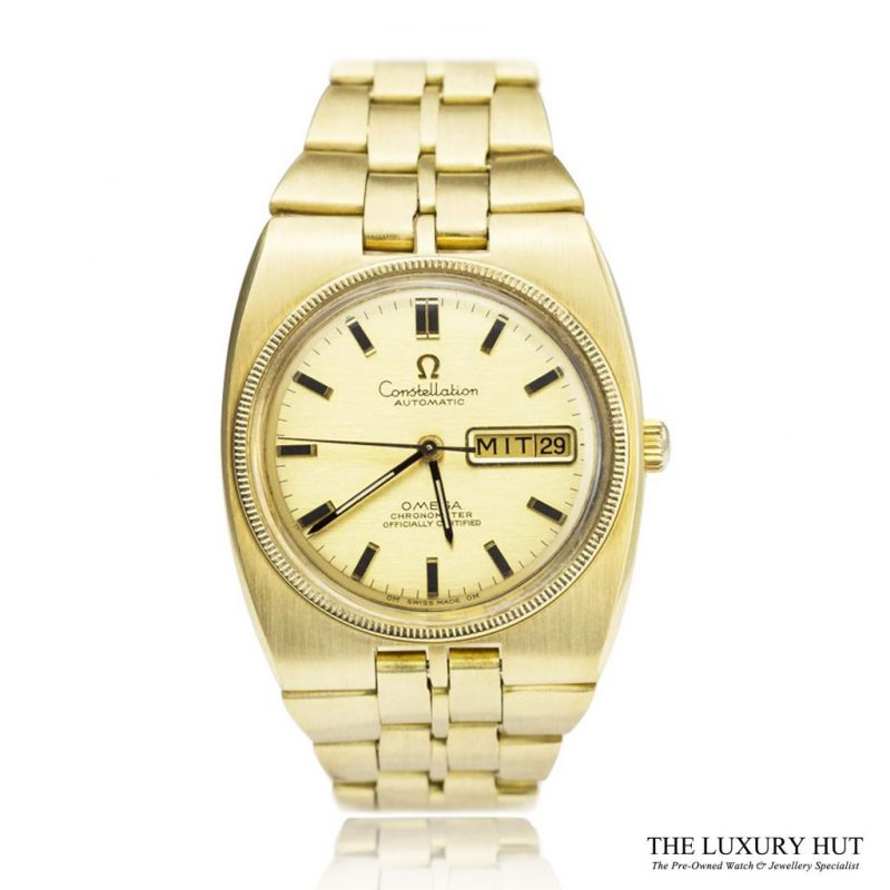 Shop Omega 18ct Gold Constellation Watch Ref 168.045 Order Online Today For Next Day Delivery - Sell Your Omega Watch To The Luxury Hut London