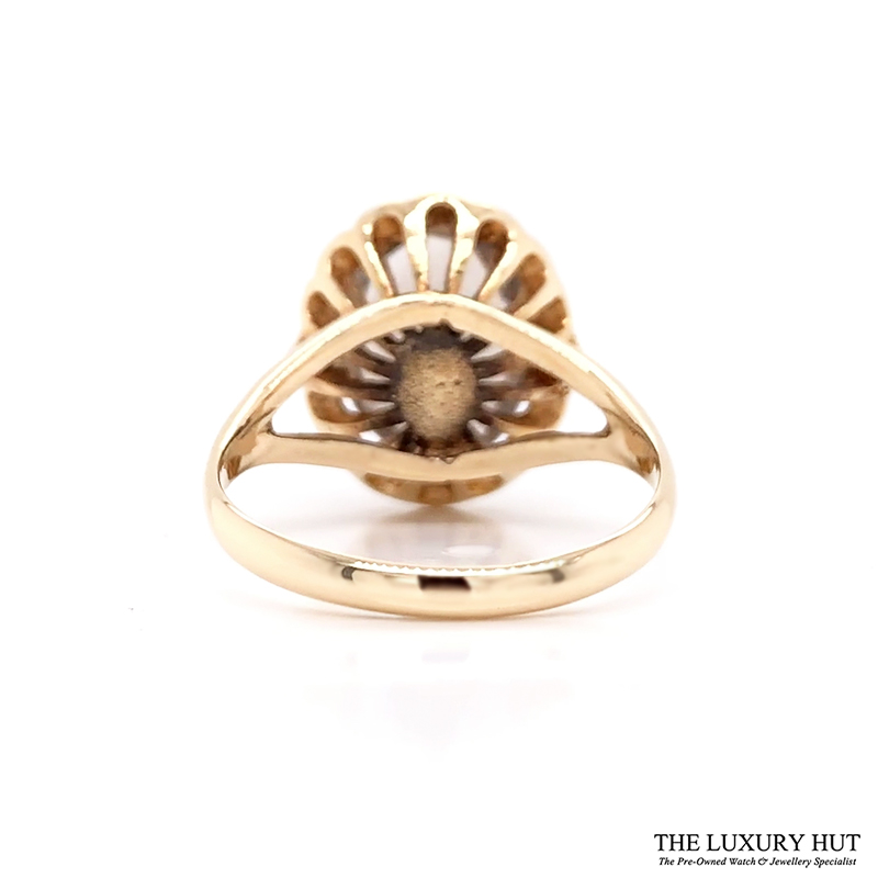 Shop 9ct Yellow Gold Smokey Quartz Ring - Order Online Today For Next Day Delivery