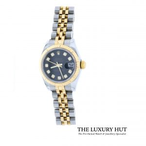 Rolex Lady Datejust Diamond Dial Ref: 179173 - Order Online Today For Next Day Delivery - Sell Your Old Rolex To The Luxury Hut London