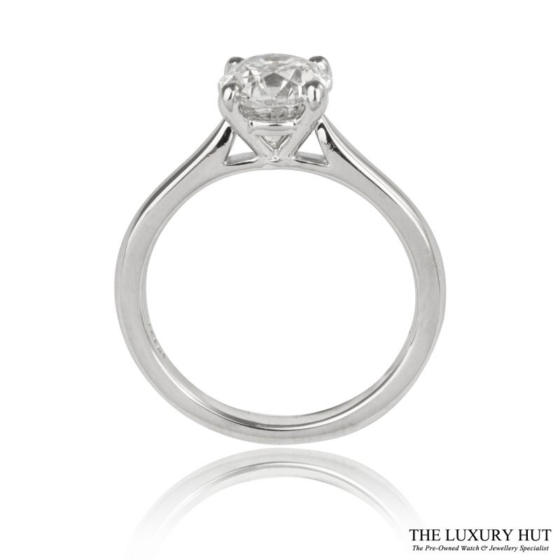 Shop Pre-Owned 18ct White Gold Diamond Ring - Order Online Today for Next Day Delivery