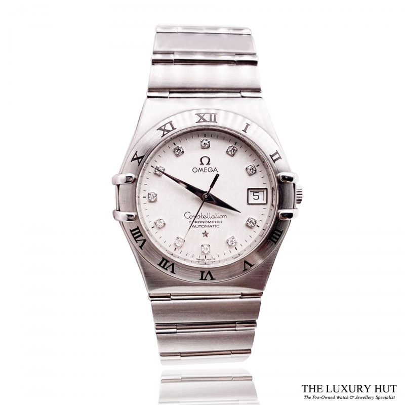 Omega Constellation Diamond Set Watch Ref: 1504.35.00 - Order Online Today For Next Day Delivery - Sell Your Omega Watch To The Luxury Hut London