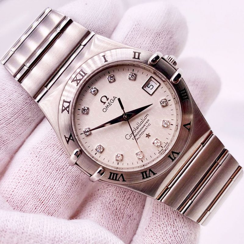 Omega Constellation Diamond Set Watch Ref: 1504.35.00 - Order Online Today For Next Day Delivery